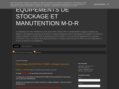 Blog Equipements de stockage et manutention MDR