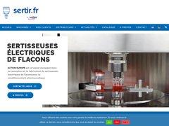 Action Europe, fabricant de sertisseuses de flacons et bouteilles