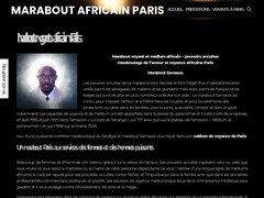 Détails : Le meilleur marabout africain de Paris