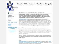 Avocat droit des affaires à Montpellier - Sébastien VIDAL vous accompagne dans tous les domaines du droit de l'entreprise (commercial, travail, sociétés, contrats, concurrence) ;