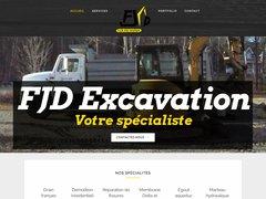 FJD Excavation, l'excavation réussie sur la Rive-Nord