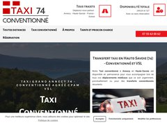 TAXI ANNECY - COURCHEVEL - GENEVE