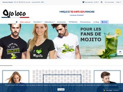Tee shirts originaux Made in France, Ojo Loco vous propose des tee shirts Mojito.