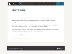 Détails : Le résultat du baccalauréat avec l'onec-dz.info
