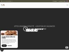 Orée de la Cité, gites de grande capacité à Carcassonne avec piscine - Gîtes de charme  de 6 à 22 personnes. A l'Orée de la Cité de Carcassonne.