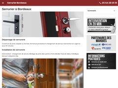 Serrurier Bordeaux 06.22.07.10.80