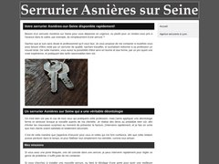 Détails : Serrurier asnieres sur seine