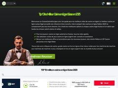 Détails : Casinoenlignesuisse : Meilleur guide de casino de la Suisse