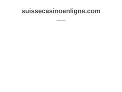 Casinoenlignesuisse : Meilleur guide de casino de la Suisse