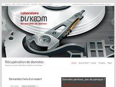 Diskeom, laboratoire de récupération de données à Paris.Diagnostic et devis gratuits.
