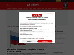 Actus lepoint.fr