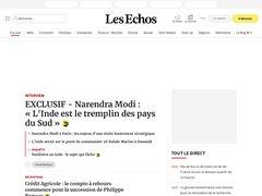 Actus lesechos.fr