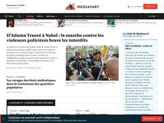Actus mediapart.fr