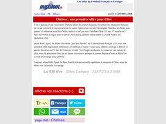 Actus news.maxifoot.fr