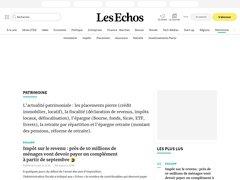 actualité du marché de l'immobilier sur patrimoine.lesechos.fr
