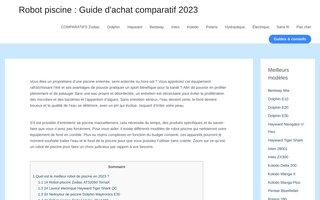 Robotpiscine.info