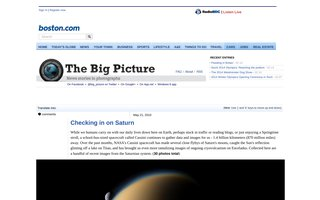 Silence ! Saturne