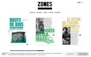 Les éditions Zones et les