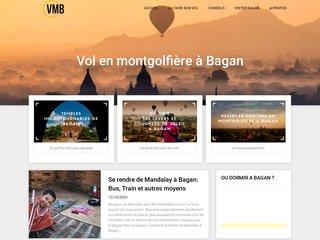 Vol en montgolfière à Bagan