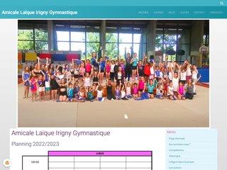 Aligym : Amicale Laïque Irigny gymnastique