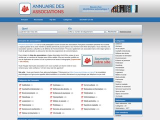 screenshot http://annuaire-association.com <title>ANNUAIRE NOOGLE.  webmaster connect</title>