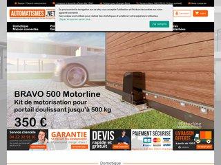 screenshot http://automatismes.net Automatismes.net