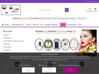 screenshot http://belle-extension.com