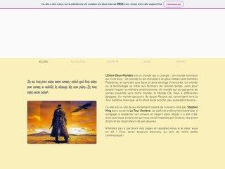 screenshot http://entre.deux.mondes.free.fr/ L'entre-deux-mondes rpg