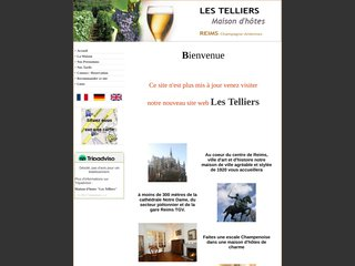 screenshot http://les.telliers.free.fr Les telliers chambre d'hôtes