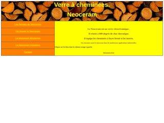 screenshot http://neoceram.free.fr/ La vitrocéramique, le neoceram