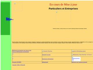 screenshot http://pagesperso-orange.fr/kadinformatique/ K@d informatique : assistance informatique