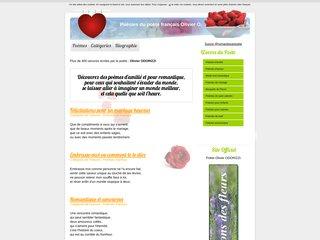 screenshot http://poeme.boreal.info/ Poèmes d'amour et d'amitiés ...