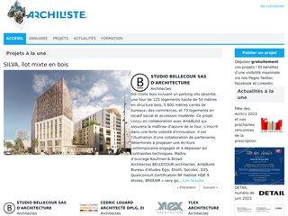 screenshot http://www.archiliste.fr