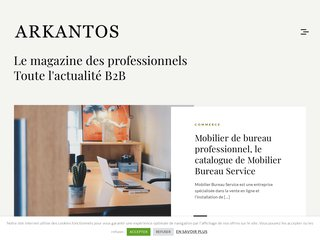 screenshot http://www.arkantos-consulting.com Arkantos consulting