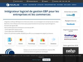 screenshot http://www.azurlog.com Caisse informatique et  logiciel hotel -restaurant
