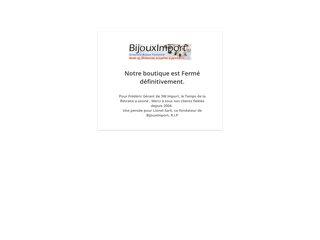 screenshot http://www.bijouximport.com Bijouximport : grossiste n°1 en bijoux fantaisie