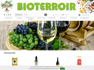 screenshot http://www.bioterroir.fr Bioterroir.