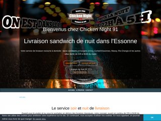 screenshot http://www.chicken-night-91.fr/