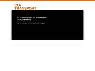 screenshot http://www.co-transport.com Co-transport : bourse de fret