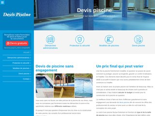 screenshot http://www.devis-piscine-gratuit.fr