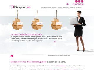 screenshot http://www.devisdemenagement.pro/