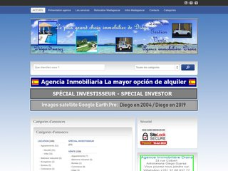 screenshot http://www.diego-suarez-immobilier.com <title>ANNUAIRE NOOGLE.  webmaster connect</title>