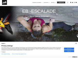 screenshot http://www.eb-escalade.com/