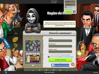 screenshot http://www.empireduprince.com