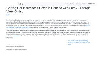 screenshot http://www.energies-renouvelable.com/ Annuaire - énergies renouvelables