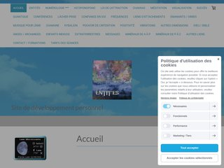 screenshot http://www.entites.fr/