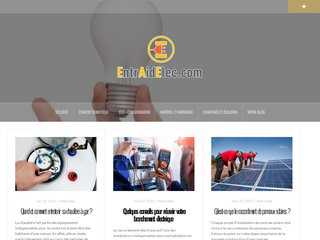 screenshot http://www.entraidelec.com/ Entraidelec - echanges et conseils en électricité