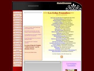 screenshot http://www.erosfrontiere.com Erosfrontiere