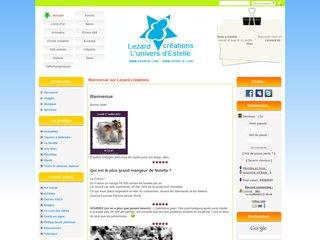 screenshot http://www.etoileb.com Lezard creatif - images, outils en ligne gratuits