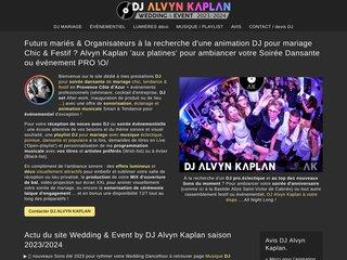 screenshot http://www.fiestanimation.fr Fiest'animation - animation mariage  événementiel